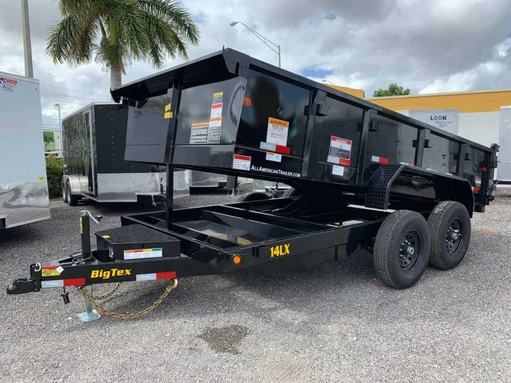 Car Loan Calculator With Extra Payments >> BIG TEX 7x14 DUMP TRAILER 7 TON 14LX-14 | All American ...