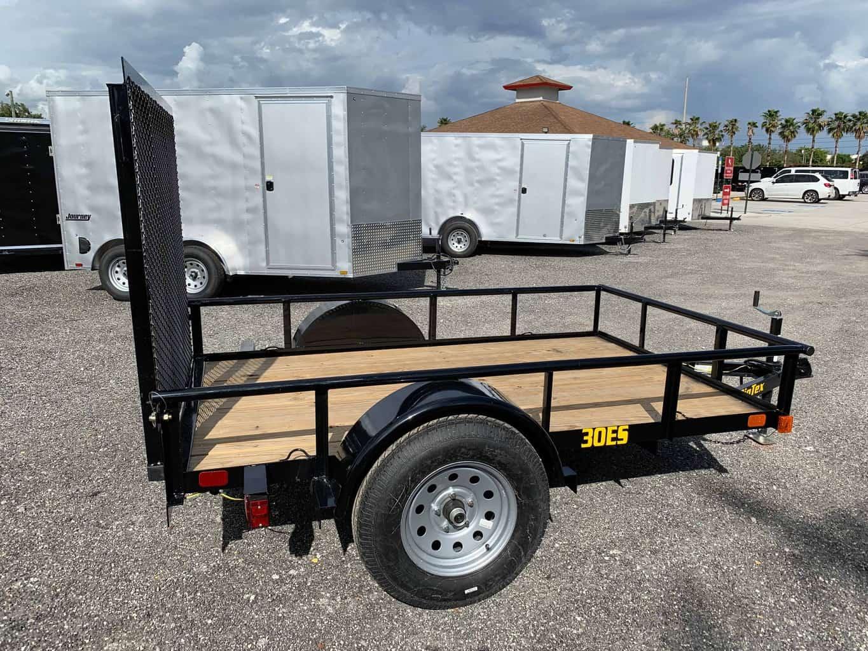 Big Tex 5x8 Utility Trailer 30es 08 All American Trailer