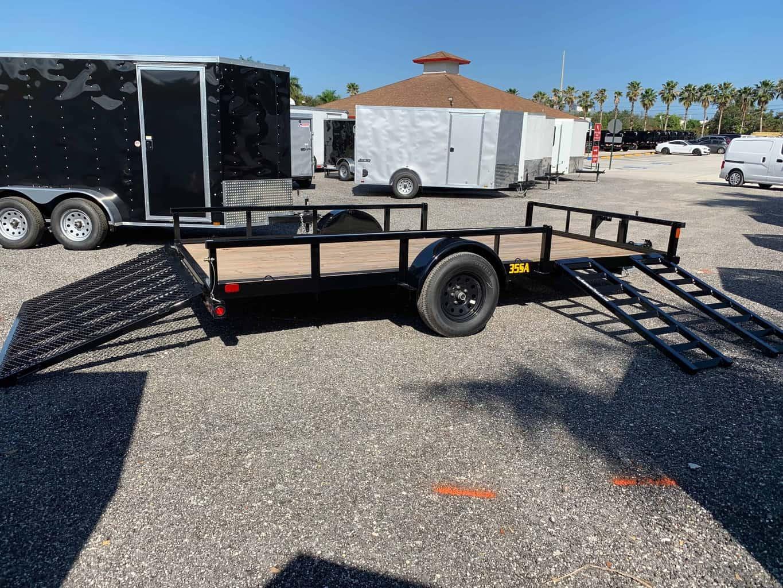 Big Tex 7x14 Utility Trailer 35sa 14rsx All American