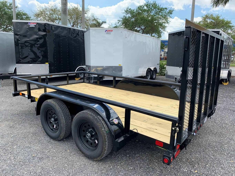Big Tex 6 5x12 Utility Trailer 60pi 12 All American